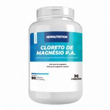 Cloreto de Magnesio P.A. - 90 Cápsulas - NewNutrition