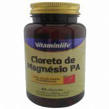 Cloreto de Magnésio PA - 60 Cápsulas - VitaminLife