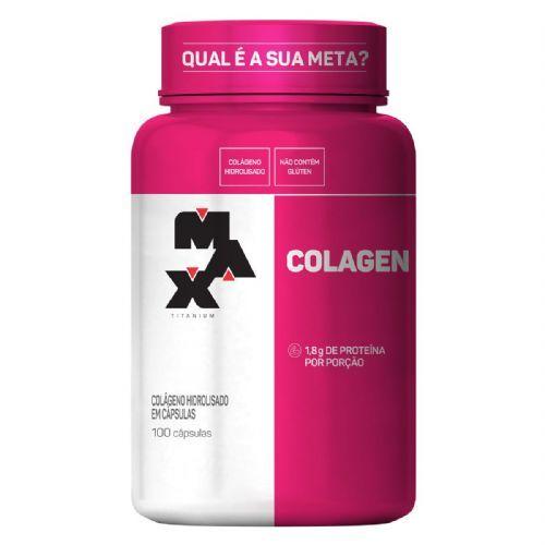 Colagen - 100 Cápsulas - Max Titanium no Atacado