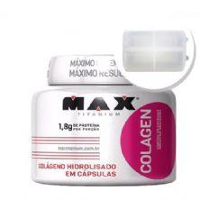 Colagen 500 - 100 cápsulas + Porta Cápsulas transparente - Max Titanium