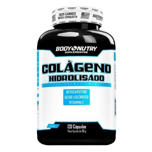 Colágeno Hidrolisado - 120 Cápsulas - Body Nutry - no Atacado