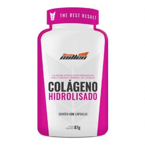 Colágeno Hidrolisado - 120 Cápsulas - New Millen no Atacado