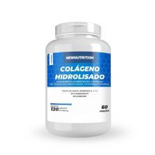 Colágeno Hidrolisado - 120 Cápsulas - NewNutrition