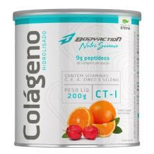 Colágeno Hidrolisado Nutri Science - 200g Laranja com Acerola - BodyAction