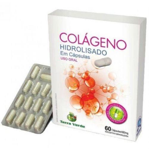 Colágeno Hidrolisado - 60 Cápsulas - Terra Verde no Atacado