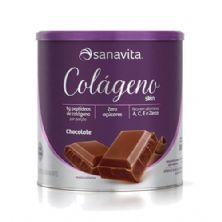 Colágeno Skim - 300g Chocolate - Sanavita