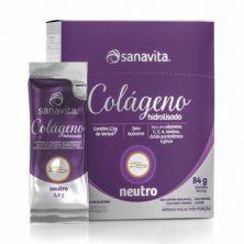 Colágeno Verisol Hidrolisado - 30 Sticke de 2,8g Neutro - Sanavita