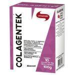 Colagentek - 10 Sachês 10g Abacaxi - Vitafor