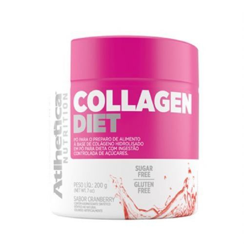 Collagen Diet Ella Series - 200g Cranberry- Atlhetica Nutrition no Atacado