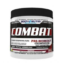 Combat Pre Workout - 300g Frutas Vermelhas - Body Nutry