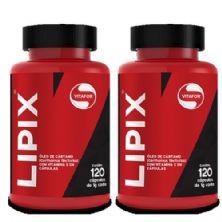 Combo 2 - Lipix Óleo de Cártamo - 120 Cápsulas - Vitafor