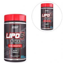 Combo 2 Lipo 6 Black Powder Brazil - Blue Rasp 120g - Nutrex