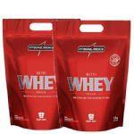 Combo 2 - Nutri Whey Protein - 1800g Refil Chocolate - Integralmédica no Atacado