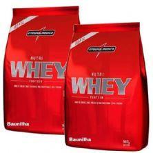 Combo 2 - Nutri Whey Protein - Refil Baunilha 907g - Integralmédica
