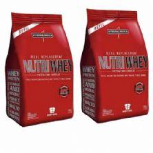 Combo 2 - Nutri Whey Protein - Refil Chocolate 907g - Integralmédica