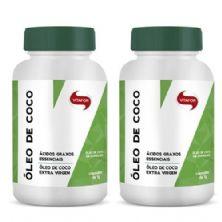 Combo 2 - Óleo de Coco Extravirgem 1g - 60 Cápsulas - Vitafor