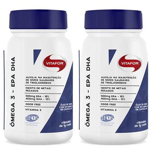 Combo 2 - Omegafor - 120 Cápsulas 1g - Vitafor