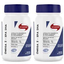 Combo 2 - Omegafor - 60 Cápsulas 1g - Vitafor