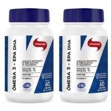Combo 2 - Ômega 3 - 60 Cápsulas 1g - Vitafor