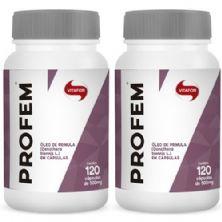 Combo 2 - Profem - 120 Cápsulas - Vitafor