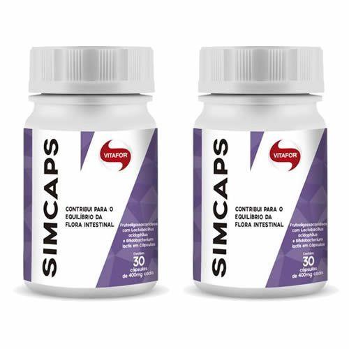 Combo 2 - Simcaps - 30 Cápsulas - Vitafor