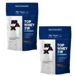 Combo 2x Top Whey 3W - 1800g Refil Chocolate - Max Titanium no Atacado