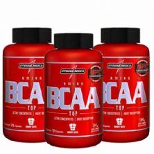Combo 3 - Amino BCAA TOP - 120 cápsulas - Integralmédica