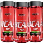 Combo 3 - Amino BCAA TOP 4:1:1 - 120 cápsulas - Integralmédica no Atacado