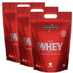 Combo 3 - Nutri Whey Protein - Chocolate 1800g Refil - Integralmédica no Atacado