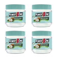 Combo 4x Óleo De Coco Extra Virgem - 150ml - Power One
