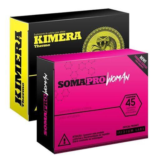 Combo Kimera + Somapro Woman - Emagrecimento e Definição - Iridium Labs