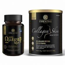 Combo - Super Ômega 60 Cápsulas + Collagen Skin 300g Neutro - Essential Nutrition