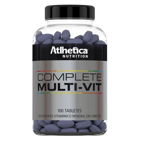 Complete Multi-Vit - 100 Tabletes - Atlhetica Nutrition