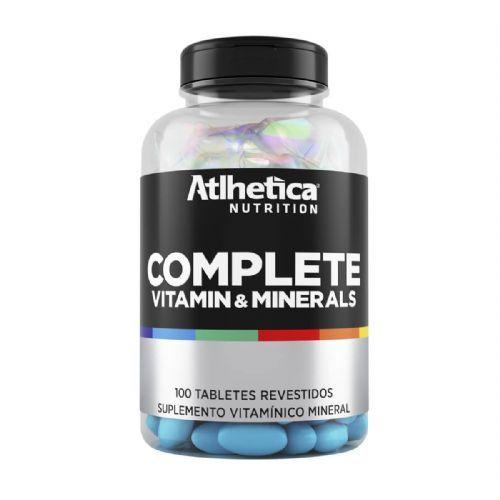 Complete Multi-Vit - 100 Tabletes - Atlhetica Nutrition no Atacado