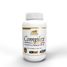 Complex A-Z Com Ômega 3 - 60 Cápsulas - Leader Nutrition