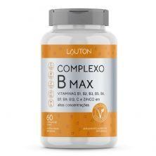 Complexo B Max - 60 Cápsulas - Lauton Nutrition
