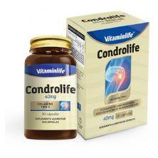 Condrolife Colágeno Tipo II - 30 Cápsulas - VitaminLife