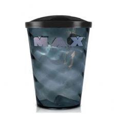 Copo Para Shake - 700ml Fumê - Max Titanium