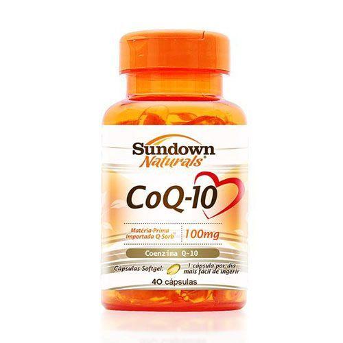 CoQ-10 - 40 Cápsulas - Sundown
