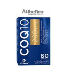 CoQ10 200mg - 60 Cápsulas - Atlhetica
