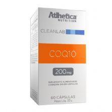COQ10 200mg - 60 Cápsulas - Atlhetica Nutrition
