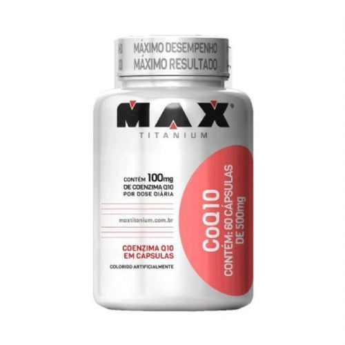 COQ10 - 60 Cápsulas - Max Titanium no Atacado