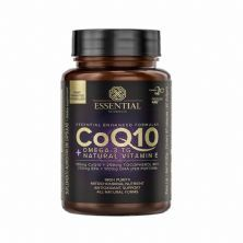 CoQ10 + Ômega 3 TG Natural Vitamin E - 60 cápsulas - Essencial Nutrition