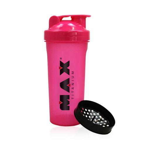Coqueteleira 750 ml Rosa- Max Titanium
