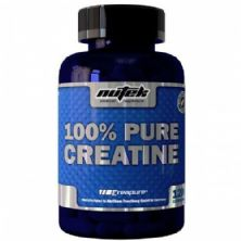 Creatina 100% Pura - 120 cápsulas - Nutek