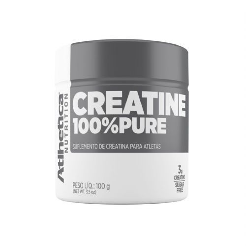Creatine 100% Pure Pro Series - 100g Natural - Atlhetica Nutrition no Atacado