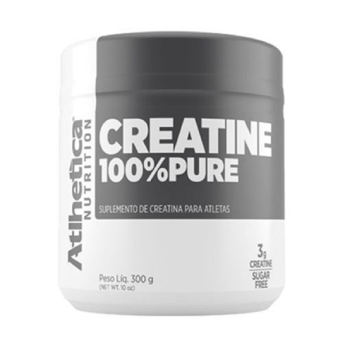 Creatina 100% Pure Pro Series - 300g Natural - Atlhetica Nutrition no Atacado