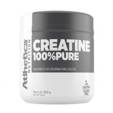 Creatina 100% Pure Pro Series - 300g Natural - Atlhetica Nutrition