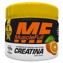 Creatina - 100g Laranja - MuscleFull