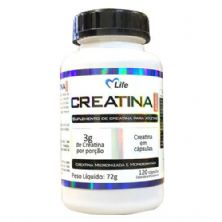 Creatina - 120 Cápsulas - Mlife